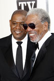 Forest Whitaker, Morgan Freeman Royalty Free Stock Photo
