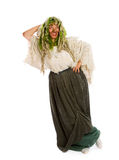 Forest witch Stock Photography