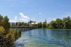 Forest and Wood Management educational institution, Gmunden Stock Images