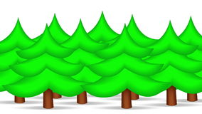 Forest in Xmas Eve. Motion Background. stock footage