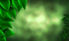foresta del bokeh Immagini Stock Libere da Diritti