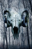 Foresta del demone immagine stock libera da diritti