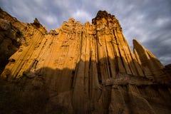 Foresta del suolo di Yuanmou, l'esecuzione della natura Fotografia Stock