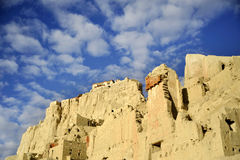 Foresta del suolo--Il Tibet Fotografie Stock