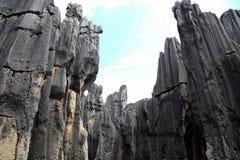 Foresta della pietra di Shilin a Kunming il Yunnan Immagini Stock Libere da Diritti