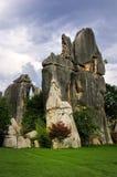 Foresta della roccia granitica caolinizzata Fotografie Stock Libere da Diritti
