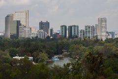 Foresta di Chapultepec fotografia stock