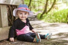Foresta di fare da baby-sitter Immagini Stock