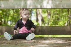 Foresta di fare da baby-sitter Immagine Stock Libera da Diritti