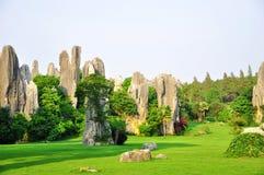 Foresta di pietra di Shilin Fotografie Stock Libere da Diritti