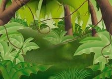 Foresta di Virgin illustrazione di stock