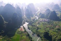 Foresta e fiumi immagini stock
