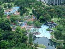 Foresta e parco artificiali Immagini Stock Libere da Diritti