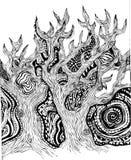 Foresta magica leggiadramente Fotografia Stock