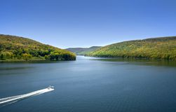 Foresta nazionale di Allegheny Fotografia Stock