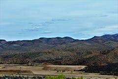 Foresta nazionale di Tonto, Arizona U S Ministero dell'agricoltura Immagine Stock Libera da Diritti