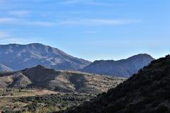 Foresta nazionale di Tonto, Arizona U S Ministero dell'agricoltura, Stati Uniti immagine stock libera da diritti