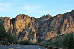 Foresta nazionale di Tonto, Arizona U S Ministero dell'agricoltura, Stati Uniti immagine stock