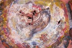 Foresta Petrified immagine stock libera da diritti