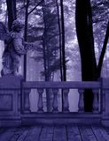 Foresta viola Gaurdian Immagini Stock Libere da Diritti