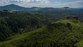 Foreste e roccia Fotografia Stock Libera da Diritti