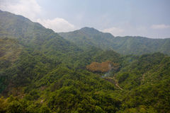 Forested hills Stock Image
