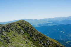 Forested mountains in scenic landscape view from Artvin highlan Stock Images