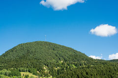 Forested mountains in scenic landscape view from Artvin highlan Stock Image