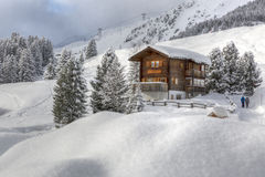 Forester House in Arosa Stock Images