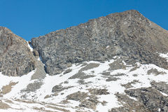 Forester Pass in the High Sierra stock images