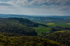 Forests and fields of Lower Saxony in Germany Royalty Free Stock Photography