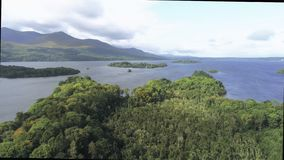 The forests and lakes at Killarney National Park in Ireland stock photos