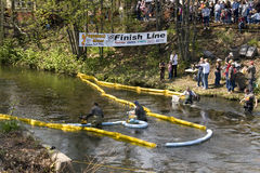 Forestville Duck Race Stock Image