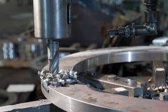 Foret en métal Photo libre de droits