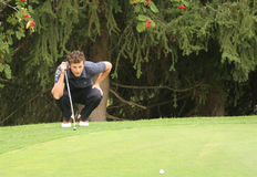 Foret, Green Velvet golf pro-am, Megeve, 2006 Stock Photos
