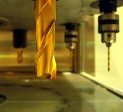 Foreuse industrielle Photos stock