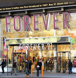 Forever 21 Store. In Times Square Royalty Free Stock Photography