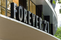 Forever 21 is an American chain of clothing retailers Stock Photo