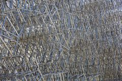 Forever bicycles sculpture in La Boca, Buenos Aires, Argentina Stock Photography