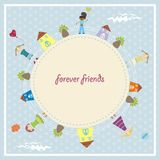 Forever friends Royalty Free Stock Images