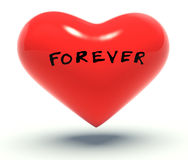 Forever heart Stock Photography