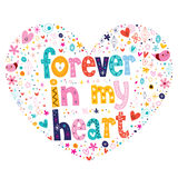 Forever in my heart Stock Photo