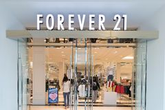 Forever 21 store front stock photo