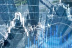 Forex που κάνουν εμπόριο, χρηματοοικονομική αγορά, έννοια επένδυσης στο υπόβαθρο εμπορικών κέντρων διανυσματική απεικόνιση