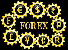 Forex Image stock