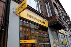 FOREX BANK Royalty Free Stock Images