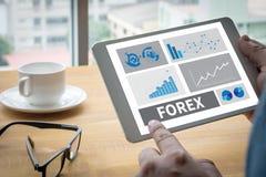 FOREX    Banking Stock Market Finance Online Stock Photo