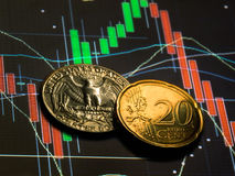 Forex cents Stock Photo