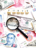 Forex concept Stock Photography
