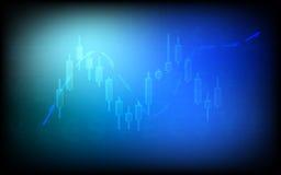 Forex de achtergrond van handelsbussiness Stock Foto's